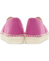 KENZO - Pink Magenta Embroidered Tiger Espadrilles - Lyst