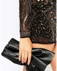 ASOS | Metallic Occasion Open Shank Crystal Ring | Lyst
