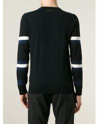 Diesel Black Gold - Black 'Kripton' Sweater for Men - Lyst