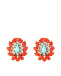 Helene Zubeldia | Red Khon Crystal Earrings | Lyst