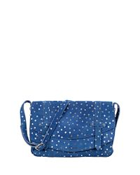 Petite Mendigote - Blue Leather Bag - Hugo Stars - Lyst
