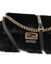 Fendi | Black Handbag | Lyst