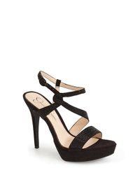 Jessica Simpson | Black 'brigid' Platform Sandal | Lyst