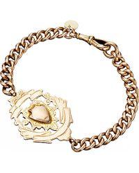 Annina Vogel | Metallic 9ct Gold Antique Medallion Shield Bracelet | Lyst
