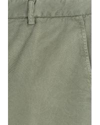 Etro | Cotton Bermuda Shorts - Green for Men | Lyst