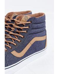 Vans - Purple Sk8-hi Reissue Denim Sneaker for Men - Lyst