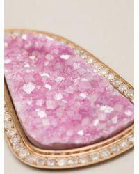Kelly Wearstler - Pink 'linden' Pendant Necklace - Lyst