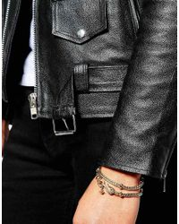 Vivienne Westwood   Metallic Gold Wrap Bracelet   Lyst