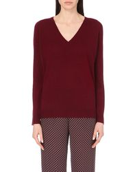 Theory | Red Adrianna Cashmere Jumper | Lyst