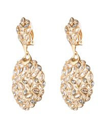 Alexis Bittar - Metallic Marquis Cluster Dangling Clip - Lyst
