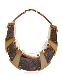 Caterina Zangrando - Brown Apple Necklace - Lyst