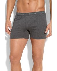 Calvin Klein   Blue 'u1029' Slim Fit Boxer Shorts for Men   Lyst
