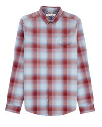 Ben Sherman | Blue Ombre Check Sportshirt for Men | Lyst