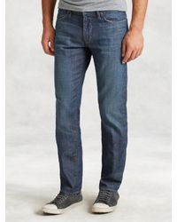 John Varvatos | Blue Bowery Medium Wash Jean for Men | Lyst