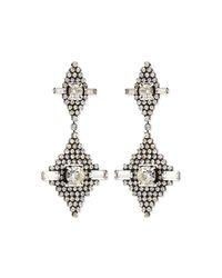 DANNIJO | Metallic Faith Crystal Drop Earrings | Lyst