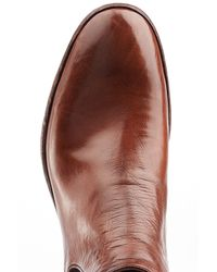 Officine Creative - Brown Leather Chelsea Boots for Men - Lyst