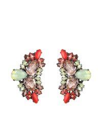 Anton Heunis - Natural Katrina Wing-shape Earrings - Lyst