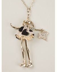 Servane Gaxotte | Metallic 'Rabbit Doll' Necklace | Lyst