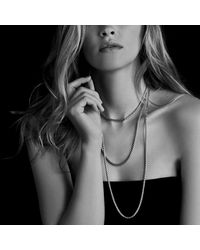 David Yurman | Metallic Baby Box Chain | Lyst