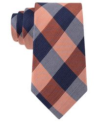 Tommy Hilfiger | Orange Hermosa Plaid Tie for Men | Lyst