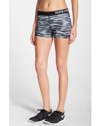 Nike - Blue 'pro - Haze' Dri-fit Shorts - Lyst