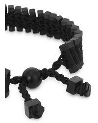 Vitaly - Arma Black Stainless Steel Link Bracelet for Men - Lyst