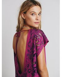 Free People | Purple Womens Ayu Dress | Lyst