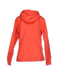 Helly Hansen - Red Hooded Casual Jacket  - Lyst