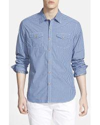 Robert Graham | Blue 'catch Surf' Tailored Fit Sport Shirt for Men | Lyst