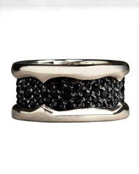 Stephen Webster - Metallic Black Sapphire Ring - Lyst