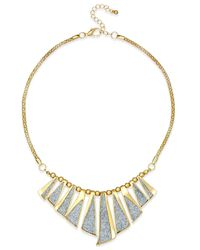 Style & Co. | Metallic Glitter Stick Necklace | Lyst