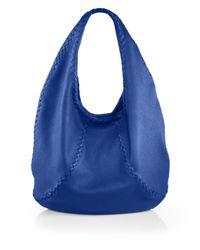 Bottega Veneta | Blue Cervo Large Hobo Bag | Lyst