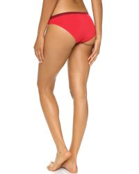 Calvin Klein - Red Pure Seamless Bikini Panties - Primary - Lyst