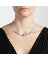 John Lewis - Metallic Cupchain Sparkle Torque Necklace - Lyst