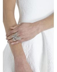 Alexander McQueen - Metallic Victorian Jeweled Skull Ring - Lyst
