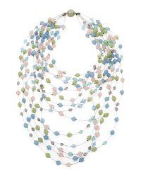 Giorgio Armani - Blue Necklace - Lyst
