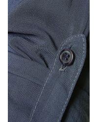 Splendid - Blue Poplin Shirt - Lyst