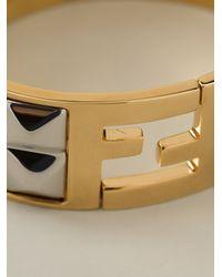 Fendi - Metallic The Sta Bracelet - Lyst