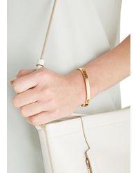 COACH - Metallic Gold Tone Bracelet - Lyst
