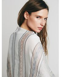 Free People - Natural Womens Waverly Cocoon Kimono - Lyst