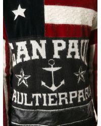 Jean Paul Gaultier - Multicolor Anchor Flag Print Jumper for Men - Lyst