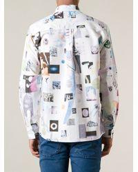Soulland - White 'Podolsky' Shirt for Men - Lyst