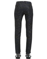 Christian Pellizzari - Blue Slim Fit Trousers for Men - Lyst