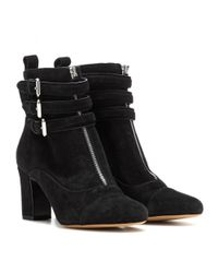 Tabitha Simmons - Black Nash Suede Boots - Lyst