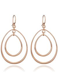 Dinny Hall - Metallic Large Rose Gold Vermeil Toro Earrings - Lyst