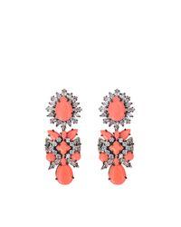 Shourouk | Pink Blondie Earrings | Lyst