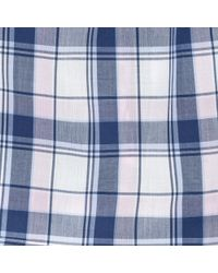Thomas Pink - Blue Middleton Check Boxers for Men - Lyst