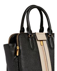 Marc By Marc Jacobs - Black 'roadster' Colourblock Leather Tote - Lyst