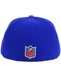 KTZ - Blue Kids' New York Giants Thanksgiving On-Field Reflective 59Fifty Cap for Men - Lyst