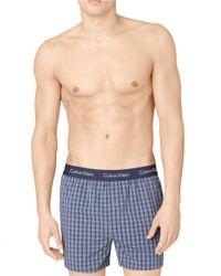 Calvin Klein | Blue Slim Fit Boxer Shorts for Men | Lyst